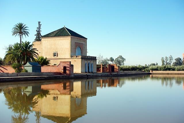 Les jardins de la Menara à Marrakech